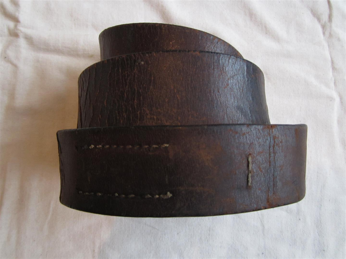 WW1 German Belt Leather
