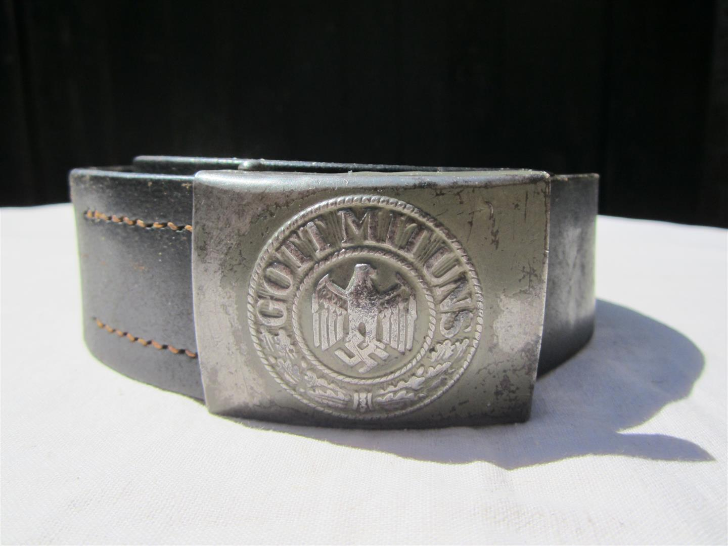 WW2 WH Steel Belt & Buckle