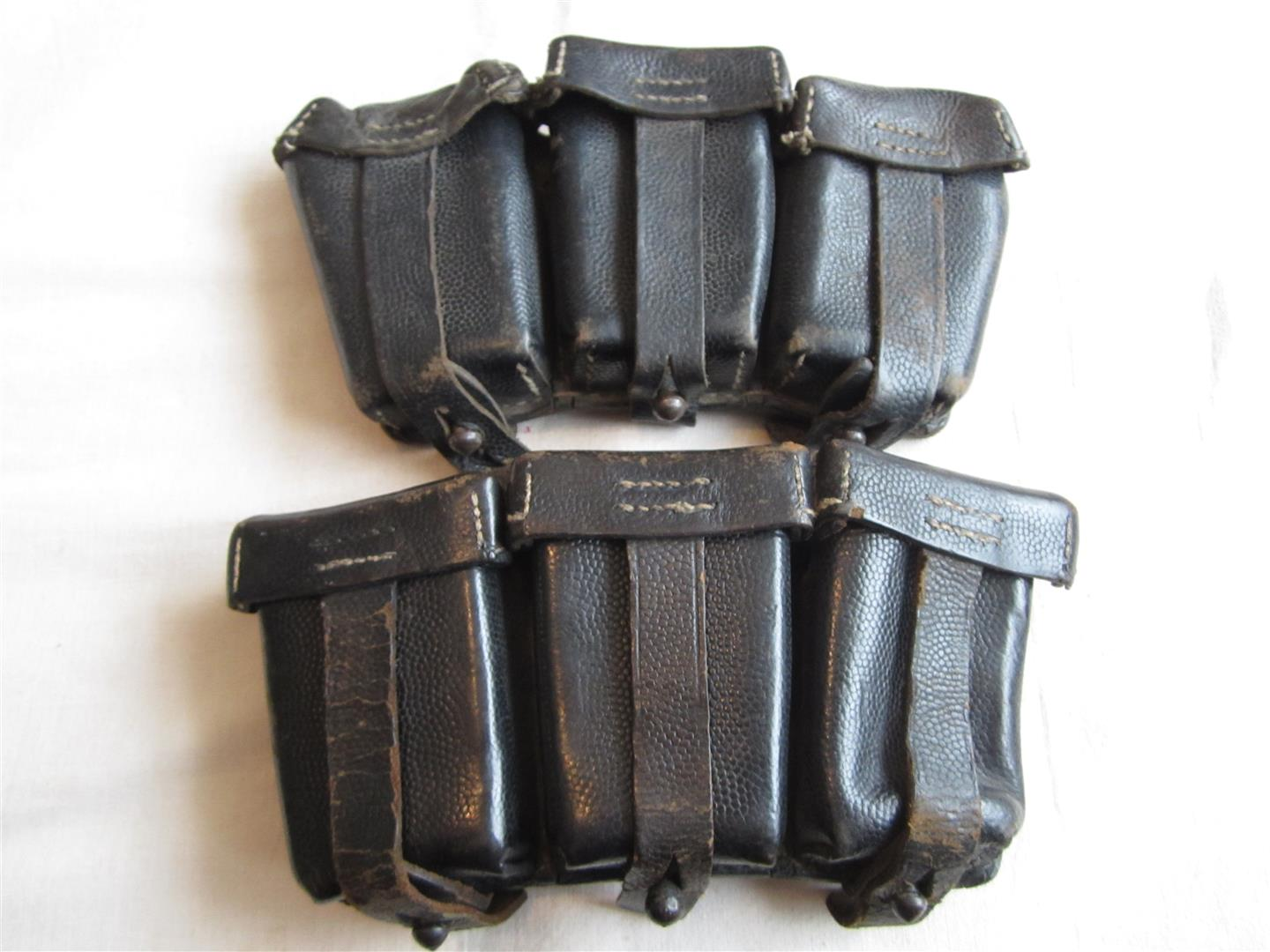 WW2 WH Pair K98 Ammo Pouches