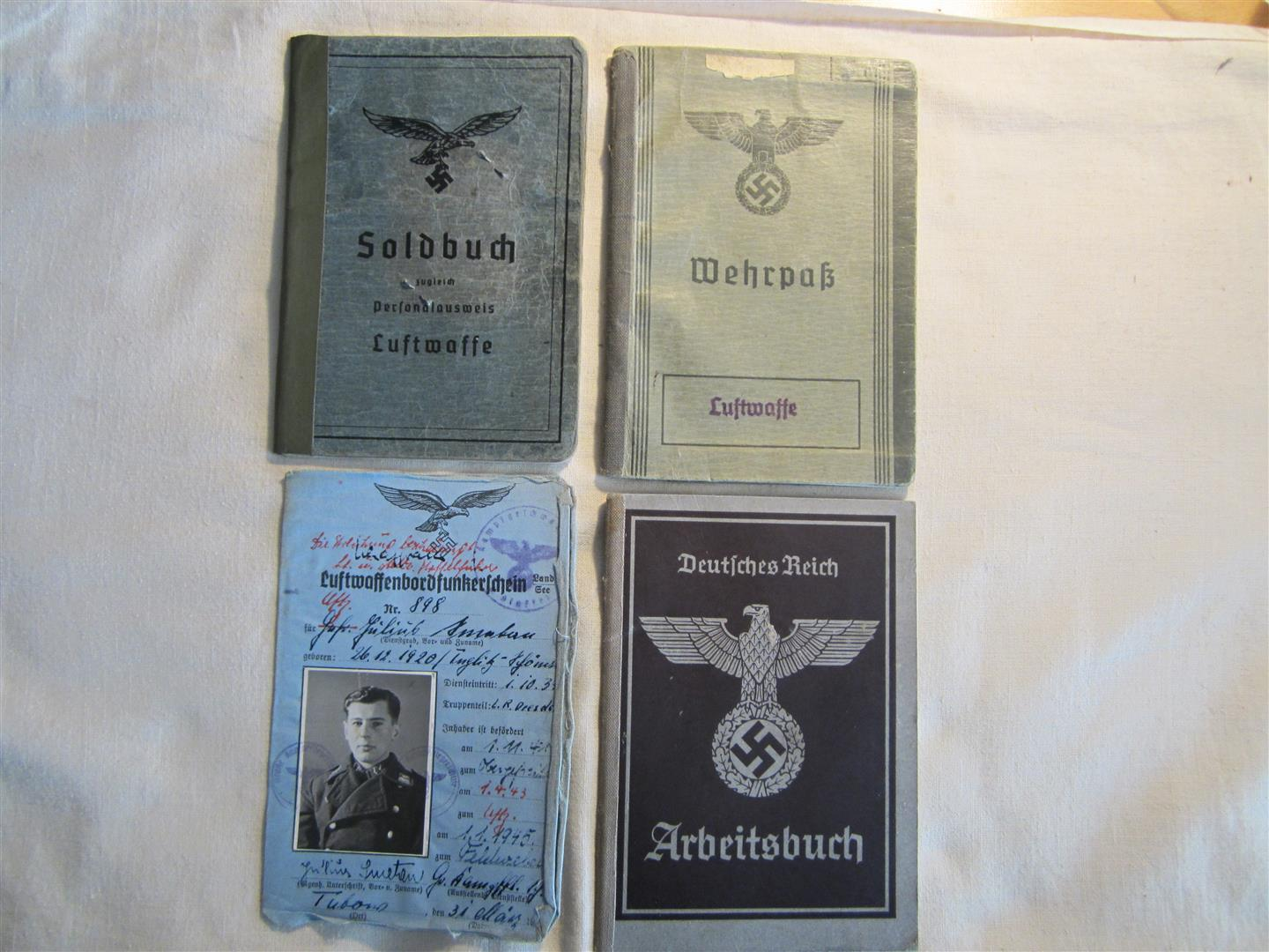 WW2 WL Flieger Document Set