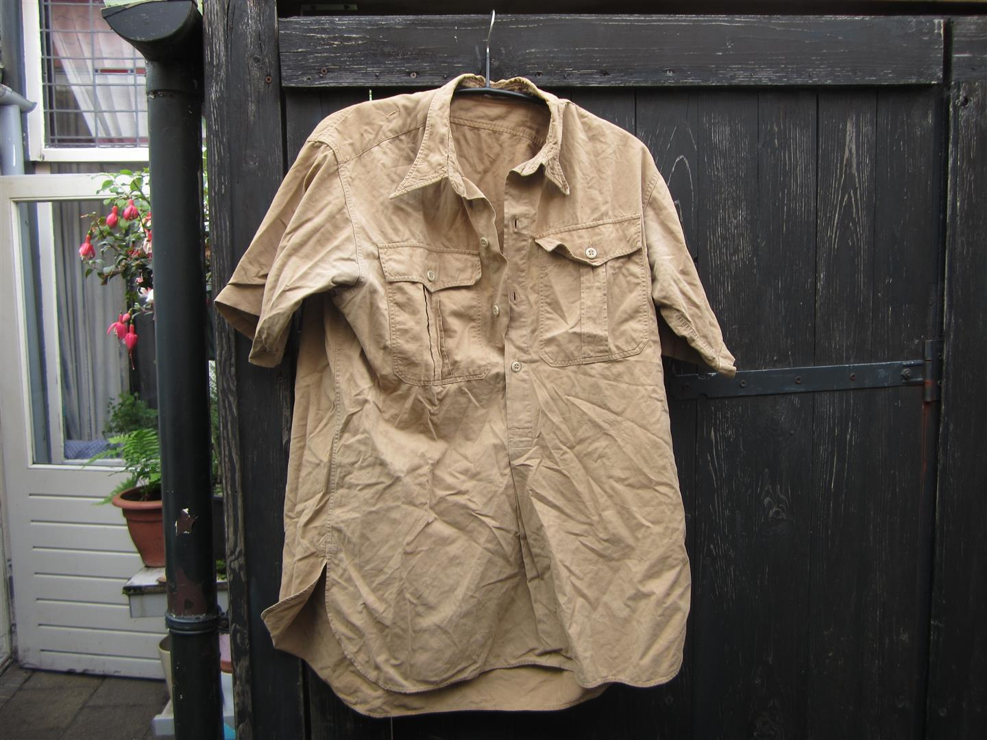 WW2 DAL Short Sleeve Tropical Shirt